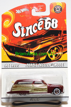 Hot Wheels Since 68 Hot Rods, Purple Passion Woody in Burgundy