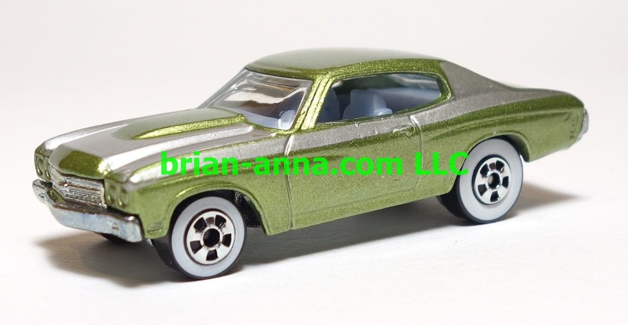 Hot Wheels Since 68 Top 40 70 Chevelle Ss In Green Loose Hotwheels 12 Camaro Zl1