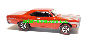 Hot Wheels Since 68 Top 40, '70 Plymouth Road Runner, Burnt Orange, LOOSE