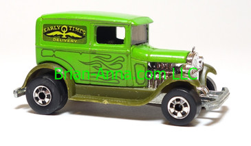 Hot Wheels A-Ok in Green, Blackwall Wheels, Hong Kong base, loose