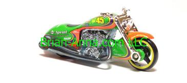 Hot Wheels Nascar Series Scorchin Scooter, #45 Sprint, loose