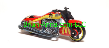 Hot Wheels Nascar Series Scorchin Scooter, #94 McDonald's, loose