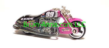 Hot Wheels Nascar Series Scorchin Scooter, #99 Exide, loose