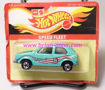 Hot Wheels Leo India Mattel Hare Splitter Aqua, Magenta/White tampo