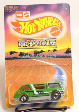 Hot Wheels Leo India Mattel Dream Van, Green, White/Black tampo, blisterpack