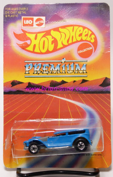 Hot Wheels Leo India Mattel Demon Car Prowler, Blue, BW wheels, blisterpack