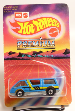 Hot Wheels Leo India Mattel Dream Van, Light Blue with 2-color side tampo, BW wheels, Unpunched blisterpack (MS3india-170)