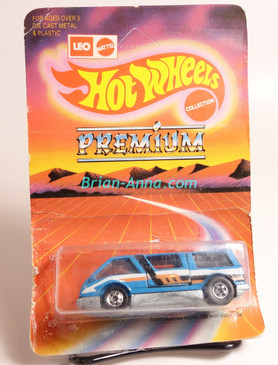 Hot Wheels Leo India Mattel Dream Van, Light Blue Enamel with 3-color side tampo, BW wheels, Unpunched blisterpack
