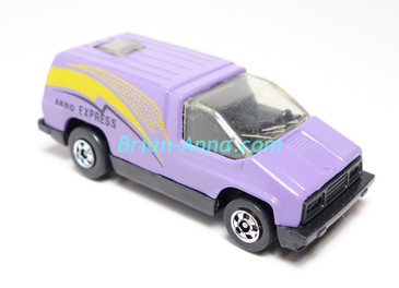 Hot Wheels Leo India Mattel Inside Story, Purple/Lavender, Yellow/Black, tampo on side, BW wheels, loose