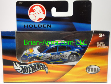 Hot Wheels Holden in metalflake Blue, Australian Grand Prix, box