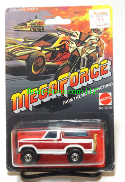 Hot Wheels Megaforce Personnel Carrier, Ford Bronco