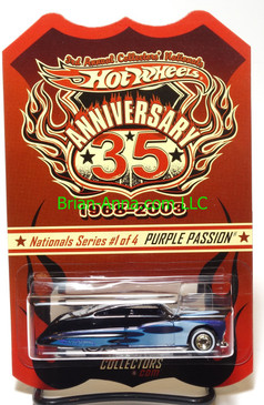 Hot Wheels 2003 3rd Nationals, Purple Passion, Black over Purple