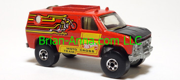 Hot Wheels Scene Machine Motocross Team, Red, Silver, blackwalls, Hong Kong base, loose