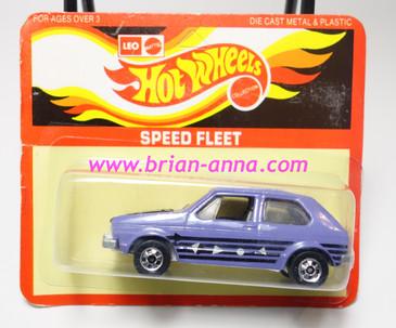 Hot Wheels Leo India Mattel Hare Splitter in Purple, blackwall wheels, blisterpack