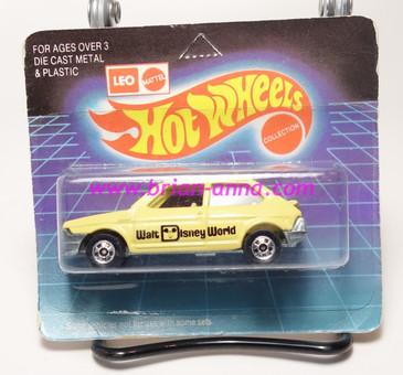 Hot Wheels Leo India Mattel Fiat in Beige, blackwall wheels, blisterpack