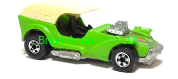 Hot Wheels Ice T, Green, Blackwalls, Hong Kong, loose