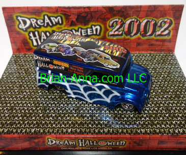 Hot Wheels Mattel's 2002 Dream Halloween Charity Car Dairy Delivery