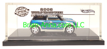 Hot Wheels 2003 World Trade Week Southern California, Mini Cooper Promo