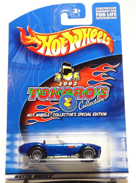 Hot Wheels Japan 2002 Tokoro's Collection Classic Cobra in Blue