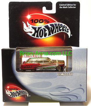 Hot Wheels 2001 Christmas Car featuring Larry Wood's Elwoody