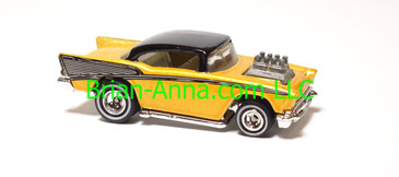 Hot Wheels Bloomingdales '57 Chevy Early Production Sample - unpainted headlamps