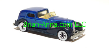 Hot Wheels '35 Classic Caddy, metalflake blue, Malaysia base, loose