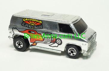 Hot Wheels 1979 Super Van, Super Chrome series, Blackwall wheels, Hong Kong base, loose