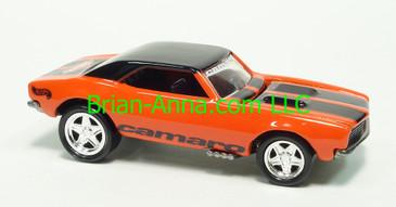 Hot Wheels 2000 Editors Choice Series, '67 Camaro, Orange with Black Roof, PC5 wheels, Thailand base, loose