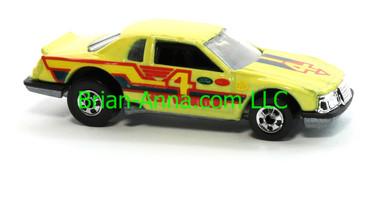 Hot Wheels 1988 Color Racers Thunderbird Stocker Thunderburner, Blackwalls, Malaysia base, loose