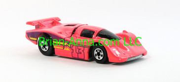 Hot Wheels 1988 Color Racers Sol-Aire CX4, Pink, Blackwalls, Malaysia base, loose