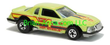 Hot Wheels 1988 Color Racers Thunderburner, Blackwalls, Malaysia base, loose