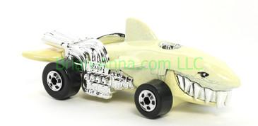 Hot Wheels 1988 Color Racers Sharkruiser, Blackwall wheels, Malaysia base, loose