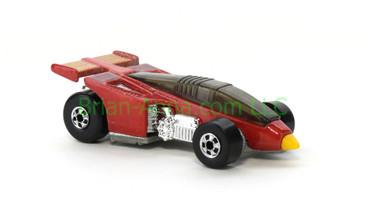 Hot Wheels 1988 Color Racers Shadow Jet, Blackwall wheels, Malaysia base, loose