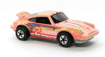 Hot Wheels 1988 Color Racers  Porsche P-911, Blackwall wheels, Malaysia base, loose