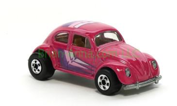 Hot Wheels 1988 Color Racers  VW Bug, Blackwall wheels, Malaysia base, loose