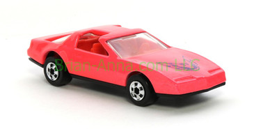 Hot Wheels 1988 Color Racers  80's Firebird,  Blackwall wheels, Malaysia base, loose