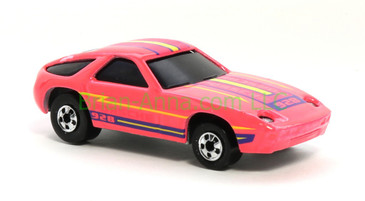 Hot Wheels 1988 Color Racers  Porsche 928,  Blackwall wheels, Malaysia base, loose