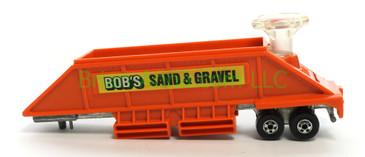 "Hot Wheels Steering Rig ""hauler only"" Bob's Sand & Gravel, Hong Kong base, loose"