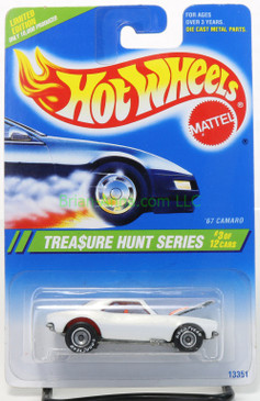 Hot Wheels 1995 Treasure Hunt 67 Camaro on the card