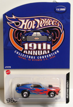 19th Hot Wheels Convention Mustang Mach 1 new in the package