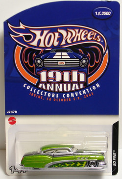 Hot Wheels 19th Convention So Fine Limited Run Special Edition