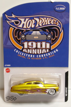 Hot Wheels 19th Convention '49 Merc Custom Low Rider is a limited run special edition