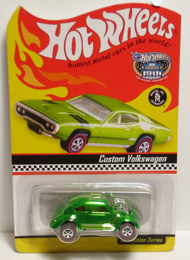 19th Hot Wheels Convention Custom VW in spectraflame green limited run