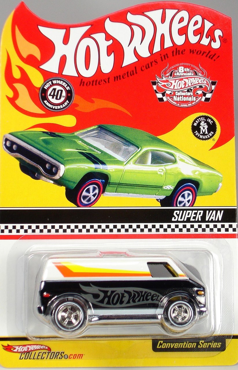 c8041d3d893 8th Hot Wheels Nationals Super Van limited run special edition
