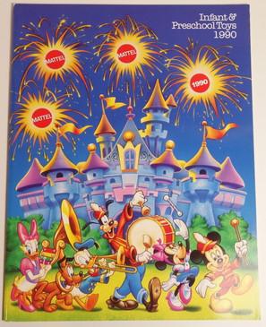 1990 Disney Infant & Preschool toy catalog
