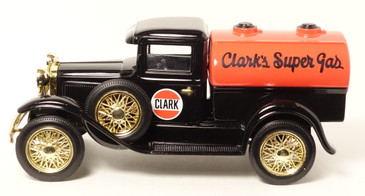 Clark Oil Company 1/25 scale coin bank by Liberty Classics