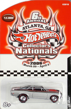 6th Hot Wheels Nationals 1968 Chevrolet Nova limited run special edition