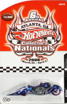 6th Hot Wheels Nationals W-oozie custom motorcycle limited run special edition