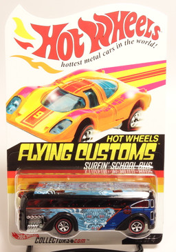 Hot Wheels Red Line Club Exclusive Flying Customs Surfin School Bus
