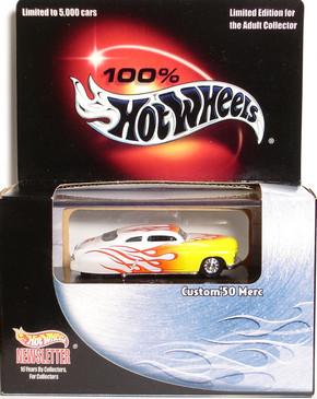 Hot Wheels Newsletter '50's Custom Merc